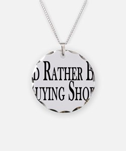 Rather Buy Shoes Necklace