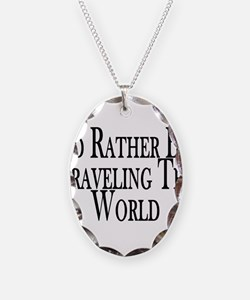Rather Travel The World Necklace