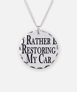 Rather Restore Car Necklace