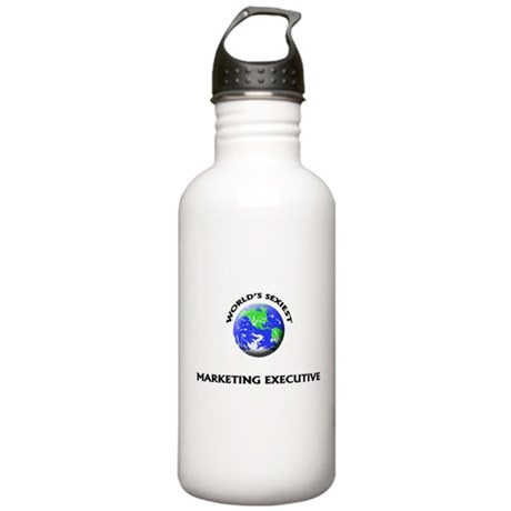 World's Sexiest Marketing Executive Water Bottle