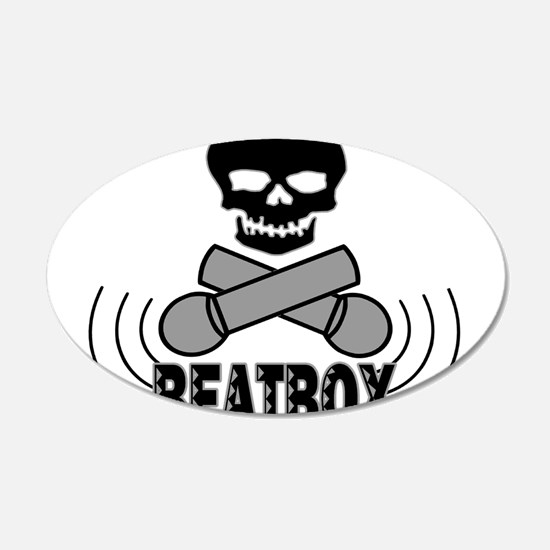Beatbox Wall Decal