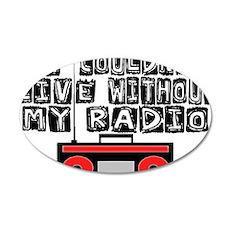 My Radio Wall Decal