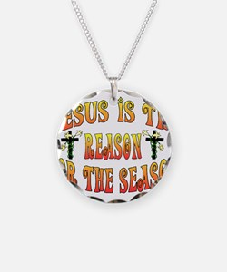 Cool Jesus is the reason Necklace