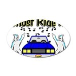 Ghost Ride It 35x21 Oval Wall Decal