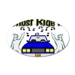 Ghost Ride It 20x12 Oval Wall Decal
