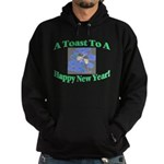 New Year's Toast Hoodie (dark)