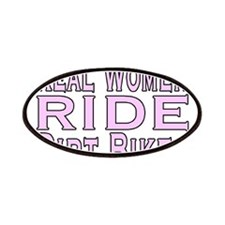 Women Ride Bikes Patches