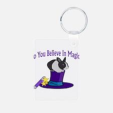 Believe In Magic Keychains
