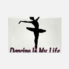 Dancing Life Rectangle Magnet