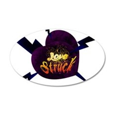 Love Struck 20x12 Oval Wall Decal