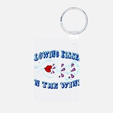 Blowing Kisses Keychains