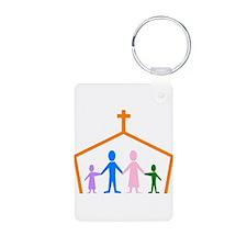 House Of Faith Keychains