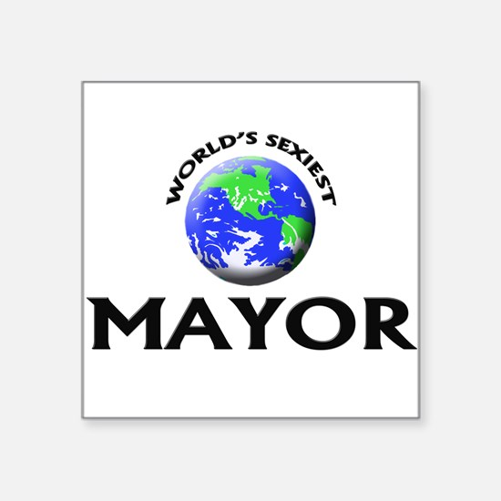 World's Sexiest Mayor Sticker