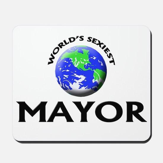 World's Sexiest Mayor Mousepad