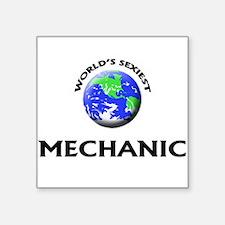 World's Sexiest Mechanic Sticker