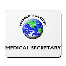 World's Sexiest Medical Secretary Mousepad
