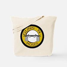 Guns N Moses Tote Bag