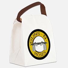 Guns N Moses Canvas Lunch Bag