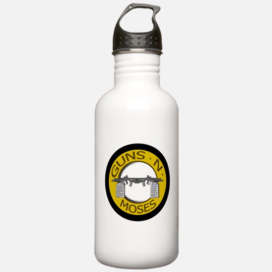 Guns N Moses Water Bottle