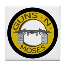 Guns N Moses Tile Coaster