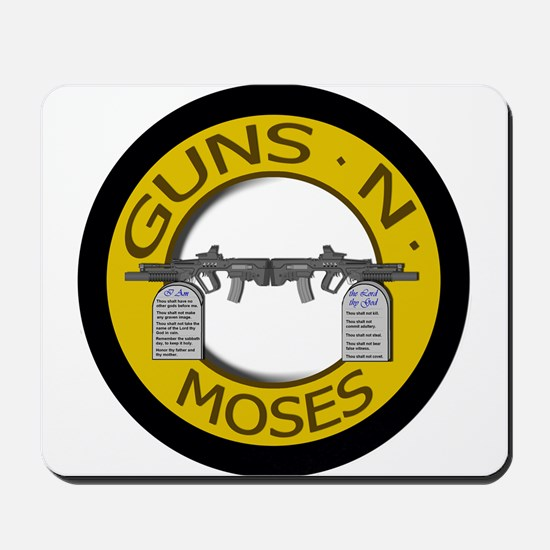 Guns N Moses Mousepad
