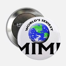 """World's Sexiest Mime 2.25"""" Button"""