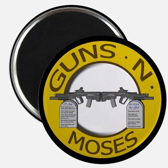 Guns N Moses Magnet