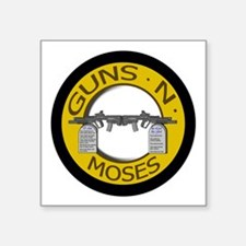 Guns N Moses Sticker