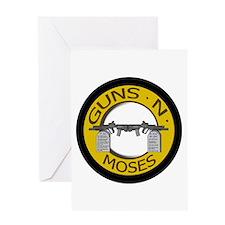 Guns N Moses Greeting Card