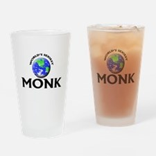World's Sexiest Monk Drinking Glass