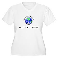 World's Sexiest Musicologist Plus Size T-Shirt