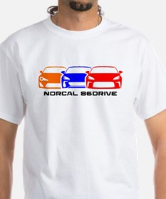 Norcal 86 Drive (color) White Shirt