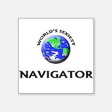 World's Sexiest Navigator Sticker