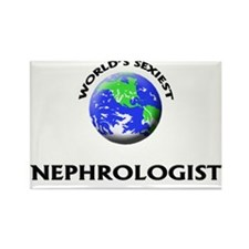 World's Sexiest Nephrologist Rectangle Magnet