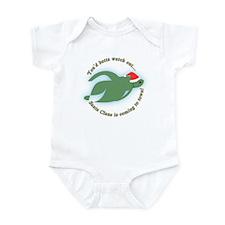 Betta Fish Christmas Infant Bodysuit