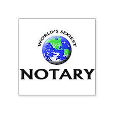 World's Sexiest Notary Sticker