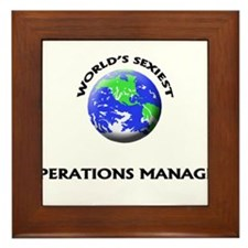 World's Sexiest Operations Manager Framed Tile