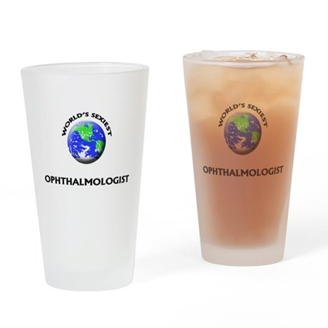 World's Sexiest Ophthalmologist Drinking Glass
