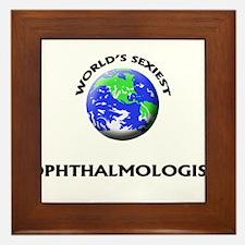 World's Sexiest Ophthalmologist Framed Tile