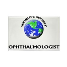 World's Sexiest Ophthalmologist Rectangle Magnet