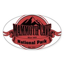 mammoth cave 4 Stickers