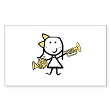 Mello & French Horn Decal