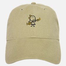 Mello & French Horn Baseball Baseball Cap