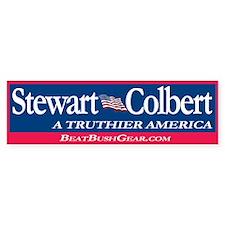 """""""Stewart-Colbert"""" Political Bumper Stickers"""