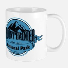 mount rainier 4 Small Mug