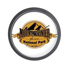 mount rainier 5 Wall Clock