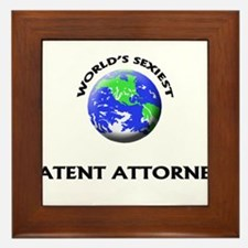 World's Sexiest Patent Attorney Framed Tile