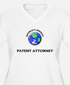 World's Sexiest Patent Attorney Plus Size T-Shirt