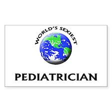 World's Sexiest Pediatrician Decal