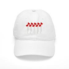 Poppies Baseball Cap